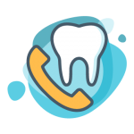 Dental Contact Icon