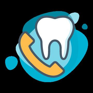 Dental Contact Icon