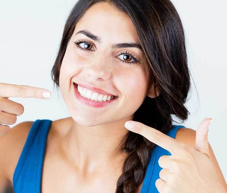 Lady after Cosmetic Dentist wagga