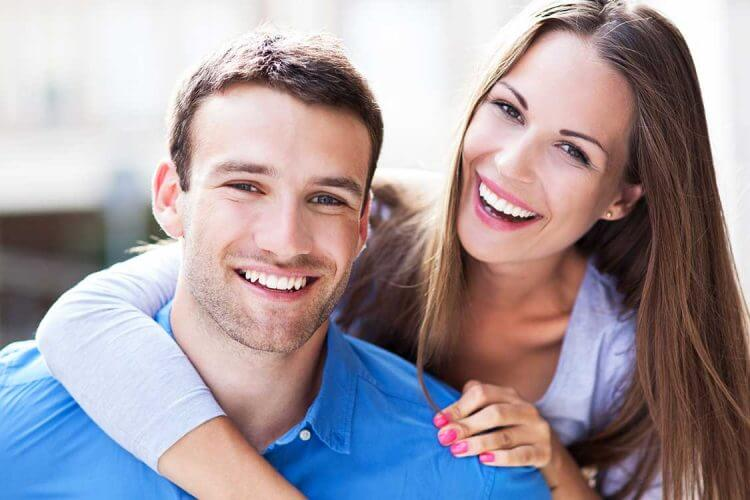 Young Couple after Dental Care Wagga