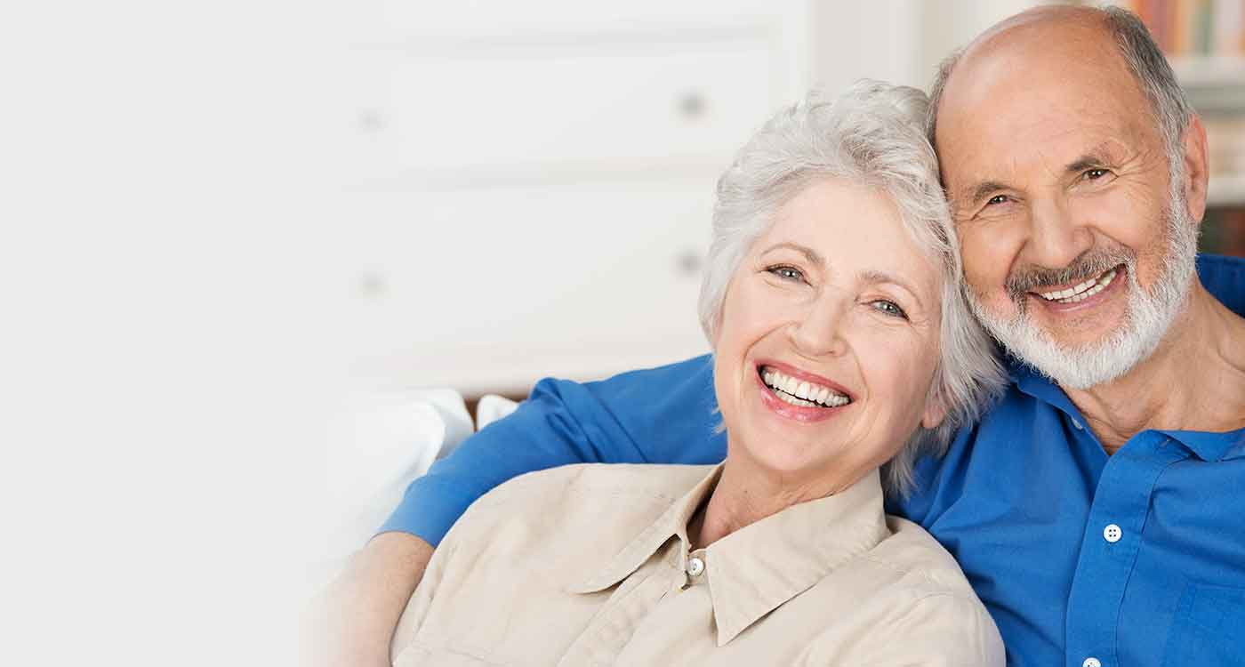 smiling after Couple Denture