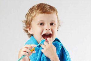 Kid dental hygiene wagga
