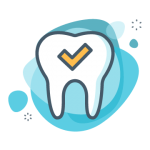 Dental Perfect Tooth Icon