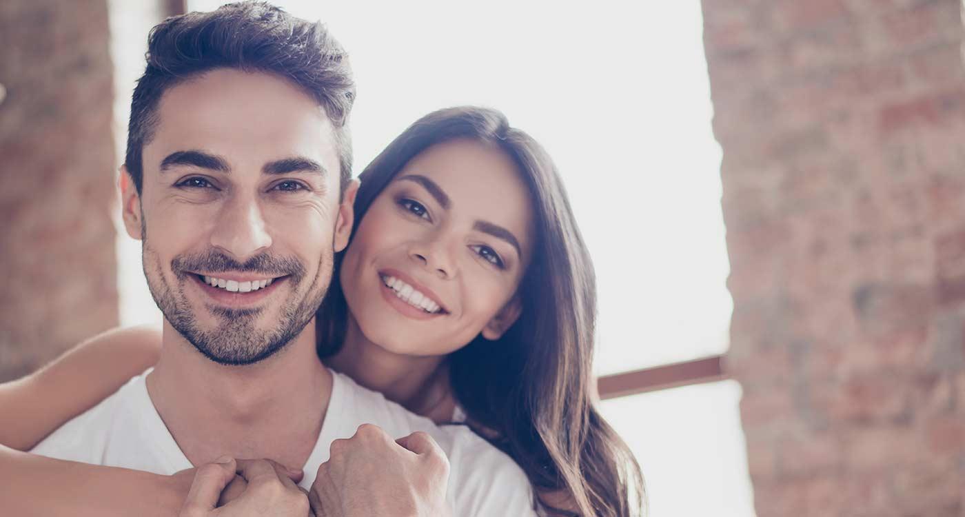 Couple Teeth whitening