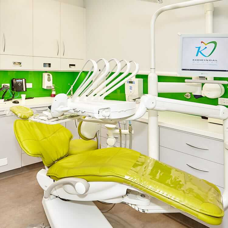 Dental Checkup Yellow Chair