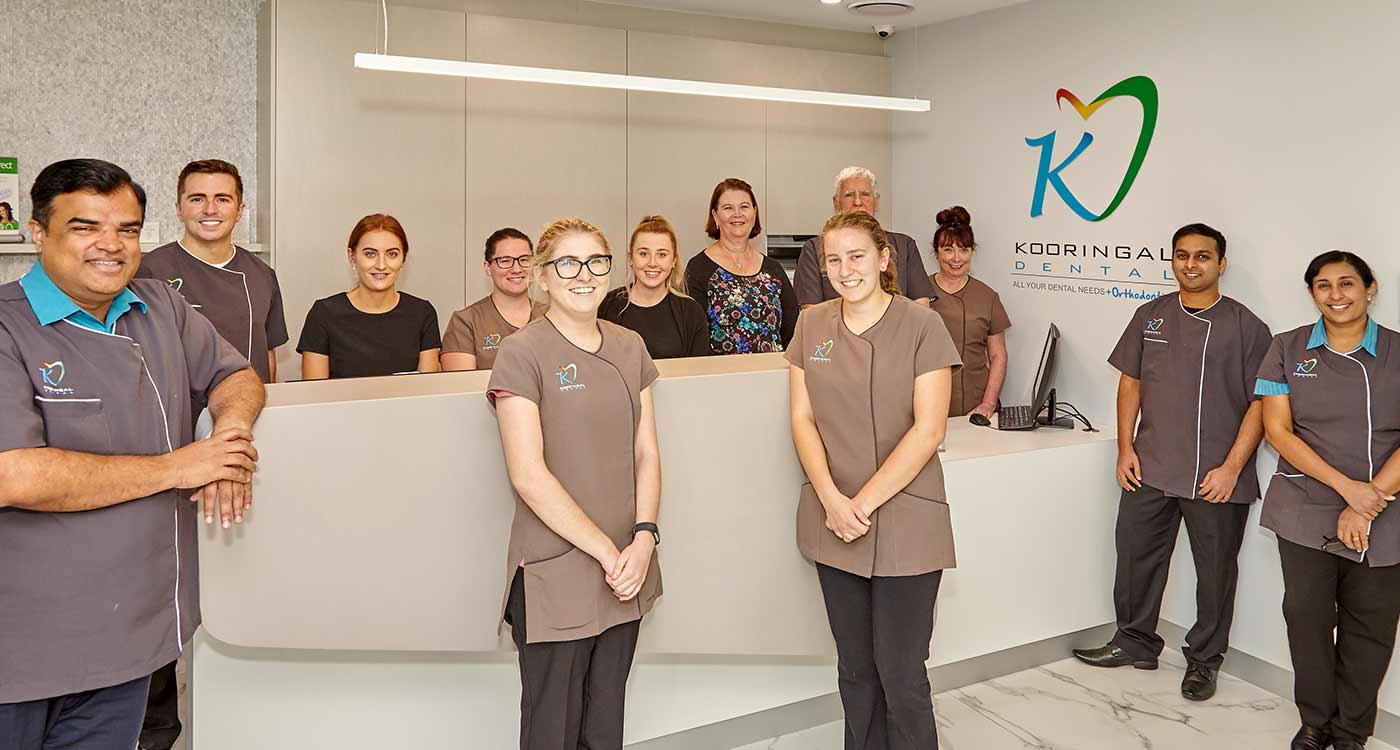 Team Group Photo of Kooringal Dental Wagga