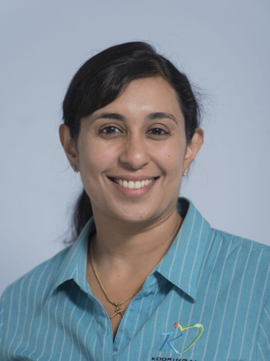 Dr Leena Cherian at Kooringal Dental
